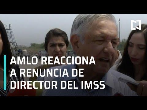 AMLO reacciona a renuncia de Martínez Cázares - Las Noticias
