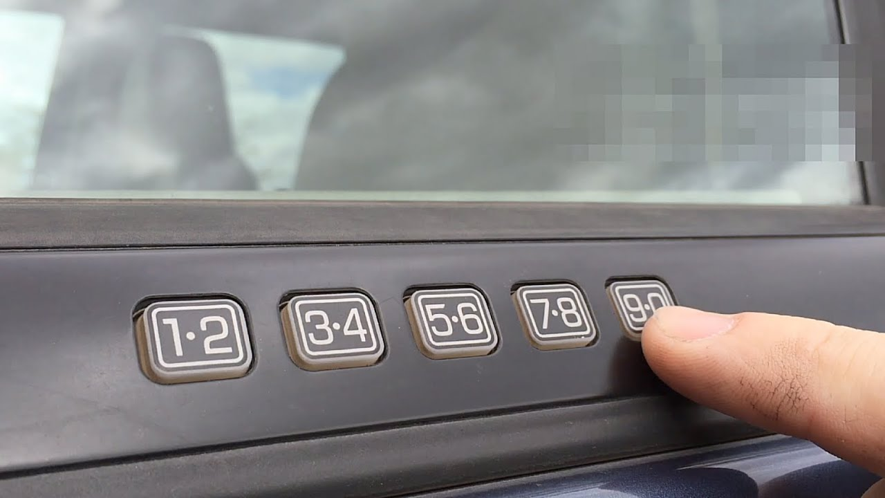 Ford Quick Tips 40 Programming A Personal Keyless Entry