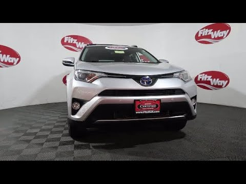 2016 Toyota Rav4 Hybrid SUV Awd 4dr Xle (natl) Gaithersburg Germantown Clarksburg Rockville Urba