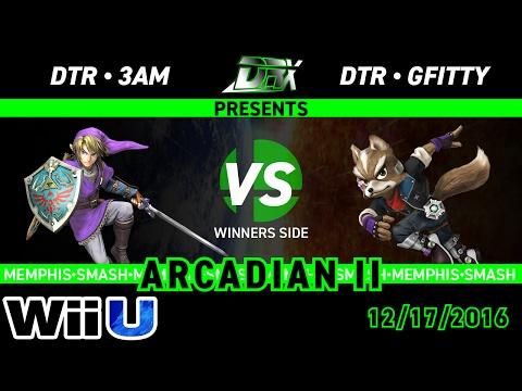 Memphis Arcadian 2 - DTR|3AM (Link) VS DTR|Gfitty (Marth)