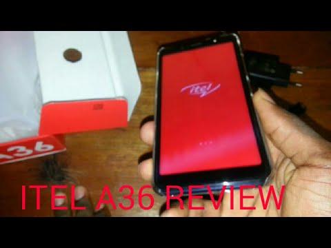 ITEL A36 REVIEW UNBOX