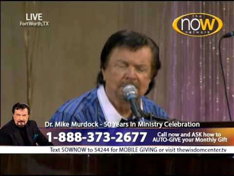 Dr  Mike Murdock singing His Favorite Song To The Holy Spirit on The NOW Network