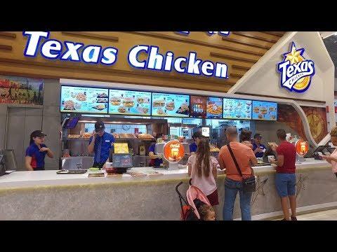 Food Court Dubai Mall 2017 DJI Osmo 1080 HD