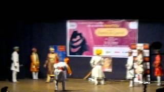 shivaji  maharaj afzal  khan meet powada armiet college