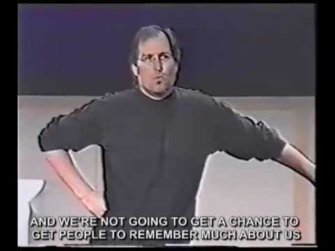 Best marketing strategy ever! Steve Jobs Think different / Crazy ones speech (with real subtitles)