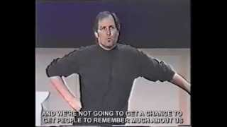 Best marketing strategy ever! Steve Jobs Think different / Crazy ones speech (with real subtitles) thumbnail