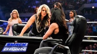 Divas Championship Match Contract Signing: SmackDown, July 12, 2013