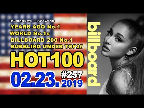 最新ビルボードチャート Billboard HOT100+Bubbling Under25:02/23/2019 Mp3