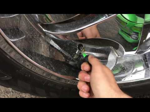 """slime tire sealant review! TESTED ON 22"""" RIMS"""