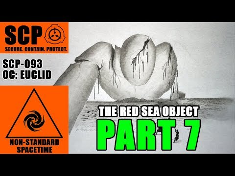 SCP-093 (Recovered Materials: Blue Test) illustrated 7/11