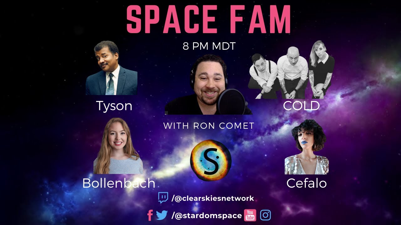 Space Fam with Neil deGrasse Tyson, COLD, Abigail Bollenbach, & Bianca Cefalo