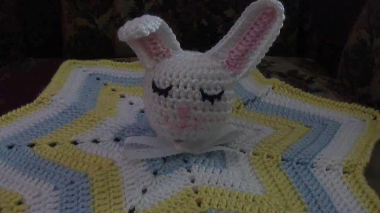 Crochet Sleepy Bunny Lovey Youtube