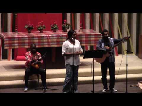 07/19/16 Champaign FUMC Jean Rene Balekita Concert Part 1