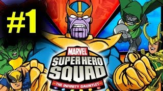 Marvel Super Hero Squad Co Op Pt 1