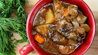 Easy Crockpot Beef Stew with Campbell's