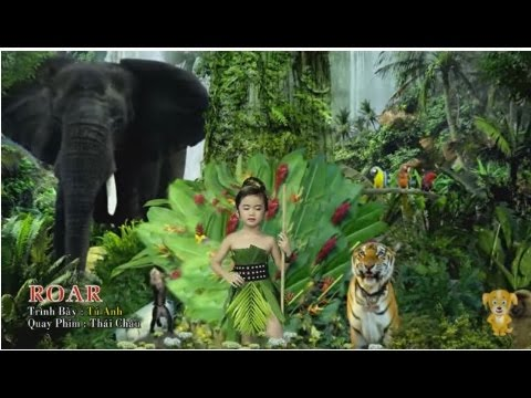 Roar Katy Perry  Bản  Đáng Yêu Của Bé Tú Anh 4 Tuổi HD
