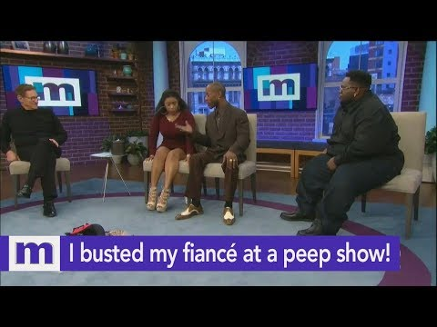 I busted my fiancé at a peep show...Is he cheating? | The Maury Show