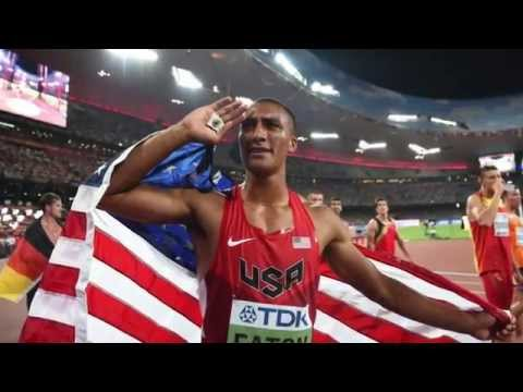Ashton Eaton Decathlon World Record 9045 - 2015 IAAF World Championships