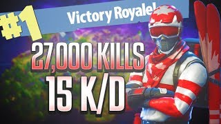 Tippity Top Fortnite Player (PS4 Pro) Fortnite Livestream