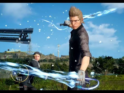 Final Fantasy XV Patch 1.20 Character Swap full gameplay showcase
