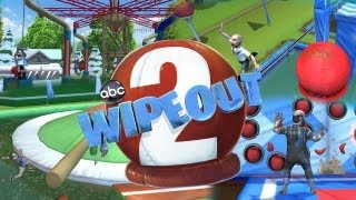 Wipeout 2 Agarrate a la campanilla | Gameplay Nintendo Wii | Harry vs Wagner