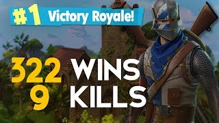 SOLO-9 KILLS-322 WINS-(Fortnite Battle Royale free) [PT-BR]-Softe