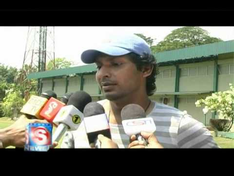 Kumar Sangakkara special voice cut - Champions League T20 2013 Travel Video