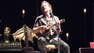 Eddie Vedder - SLEEPING BY MYSELF @ Ohana Festival 08-27-16