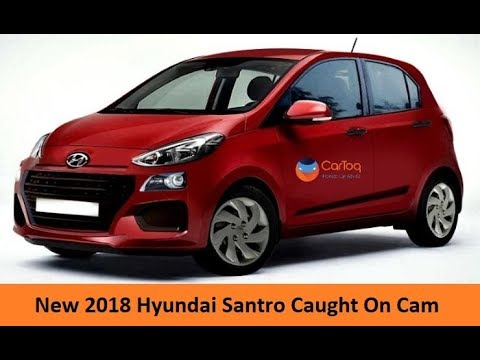 Upcoming Hyundai Santro 2018 Spotted On Road In New Delhi Before