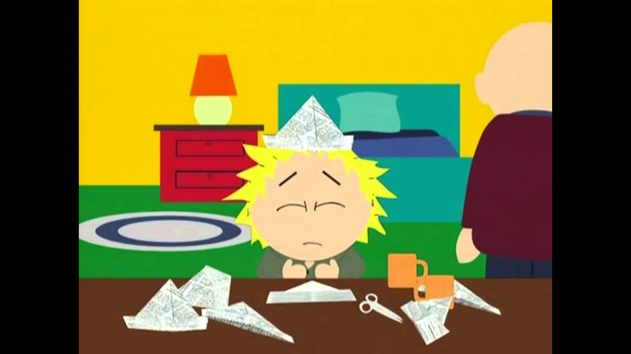 Tweek stressed out by Cartman - YouTube