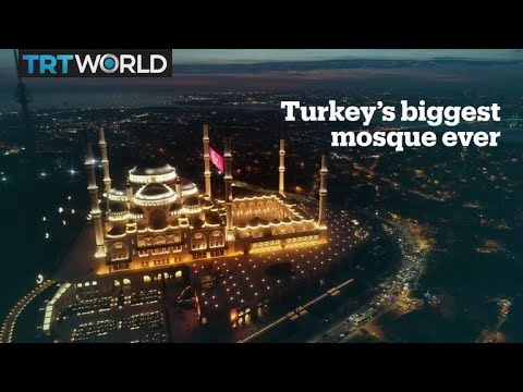 Istanbul's new symbol: Turkey's biggest mosque ever