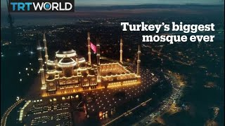 Istanbul's new symbol: Turkey's biggest mosque ever Video