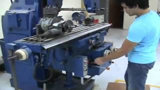 Fresadora vertical y fresadora horizontal