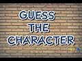 GUESS THE CHARACTER! 10 CARTOON CHARACTERS QUIZ