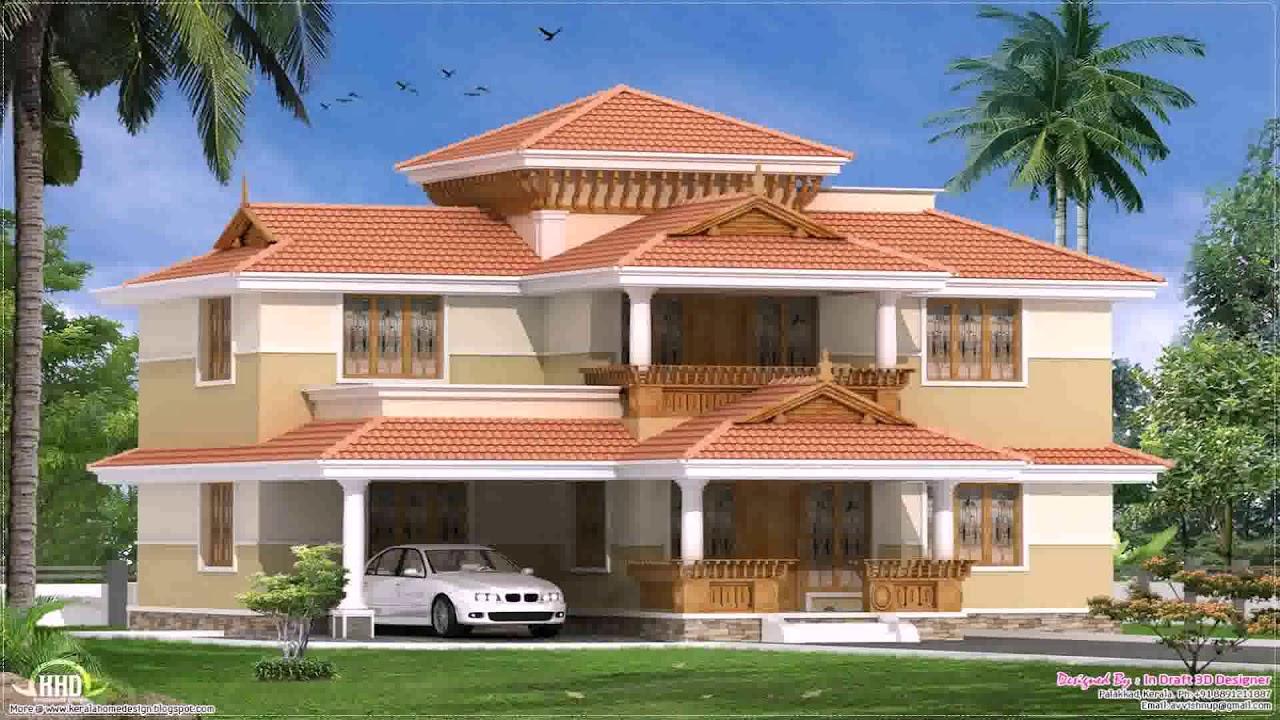 Front Elevation Of Nalukettu : Traditional kerala style nalukettu house plans youtube