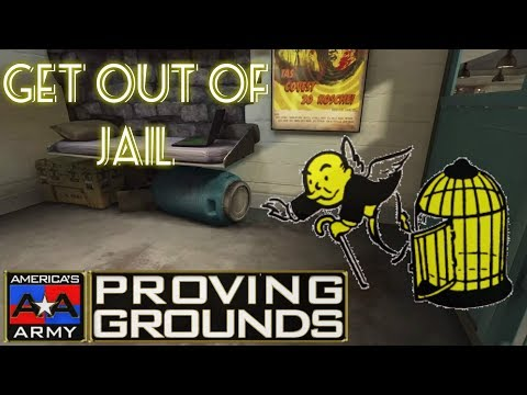 Americas Army: Proving Grounds *GLITCH* Out of Jail (STILL WORKING)