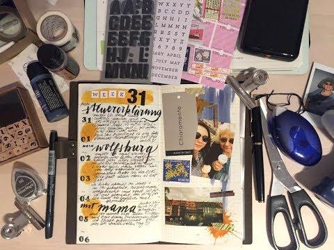 Traverler's Notebook Wochendeko KW 31 // dummesmaedchen