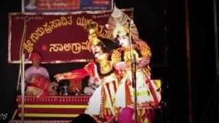 Yakshagana 2017 - Vidyadhara Jalavalli - Kapata Nataka ranga...Nagara
