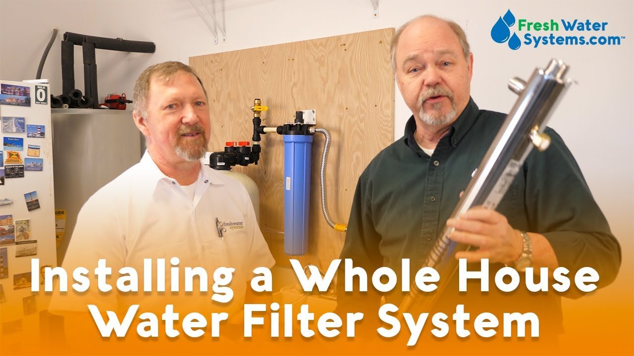 How To Install A Whole House Water Filter For Well Water