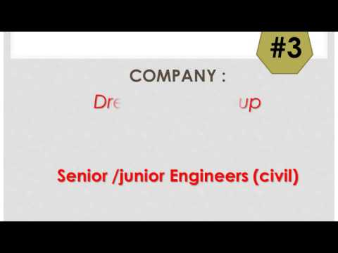 #8-Latest Jobs For Civil Engg In India