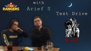 Vitalitas Cony Gambler & Jessica Necro !! Meet Up with Arif S !! Line Rangers