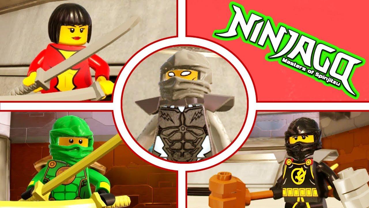 All the ninjago team in lego marvel superheroes 2 youtube - Lego ninjago team ...