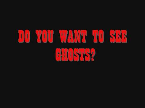 do you want to meet a ghost screensaver