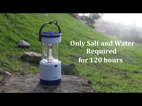 Salt Water LED Lantern Aqupa LP 250 Product Introduction