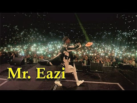MR. EAZI PULLED CROWD AT WIZKID AFRO REPUBLIK CONCERT [ Nigerian entertainment ]