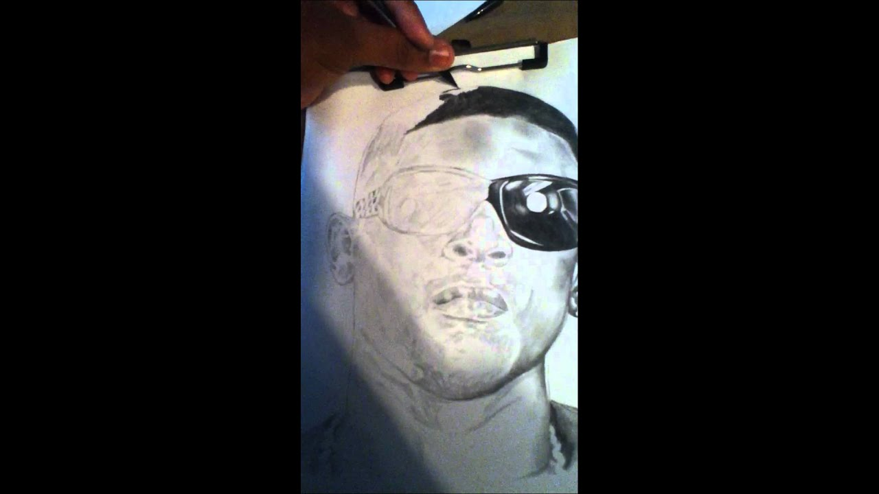Lil Boosie Drawing By Jordan Thompson Youtube