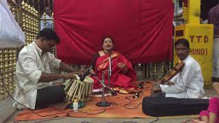 Download Dr Vinaya Carnatic TTDC Program MP3 song and Music Video