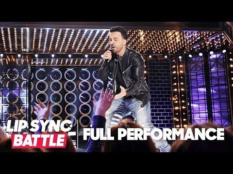 "Luis Fonsi Throws it Back with ""Tubthumping""  Chumbawamba  Lip Sync Battle"
