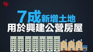 施政報告 | 30秒數讀土地房屋政策