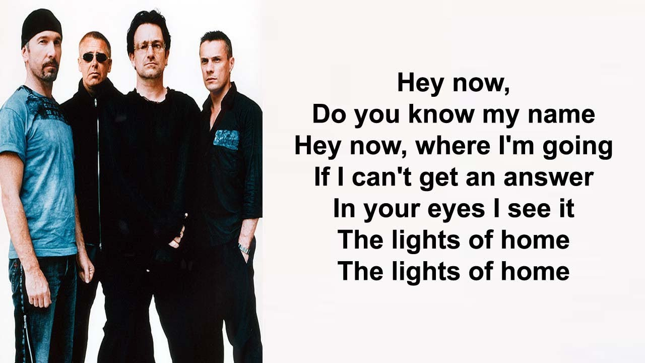 U2 – Lights of home Ft Haim Lyrics - YouTube